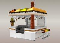 3D kiosk chocolate