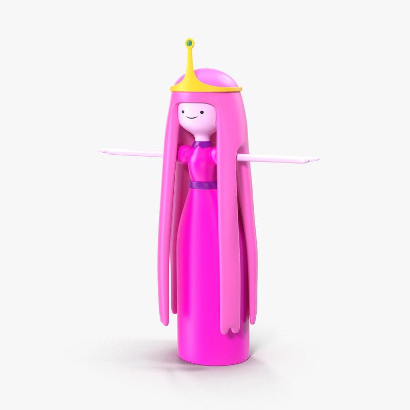 princess bubblegum 3D model