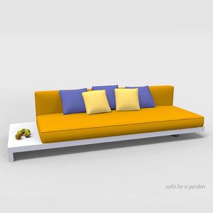 sofa garden model