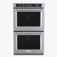 "kitchenaid Detail Photorealistic 30"" Double Wall Oven KODE500EBS"