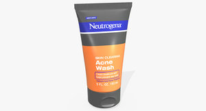 neutrogena skin clearing acne 3D model