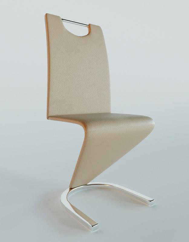 chair h090 signal 3D model