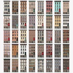 3D townhouse -