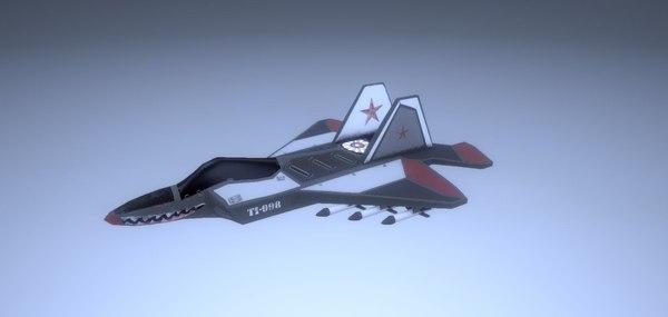 jet 1 3D model