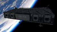 3D transport module model