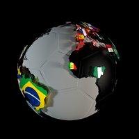 earth ball 3D