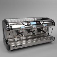 Franke coffee machine T600 TA 3 groups black