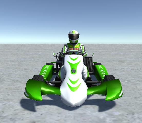 - player kart 3D model