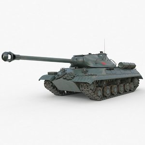 tank 3m soviet 3D model