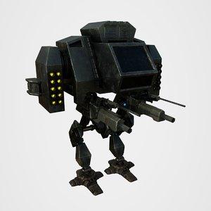robo war 3D model