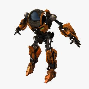 3D model robotrans