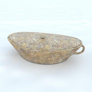 pot antique 4 3D model