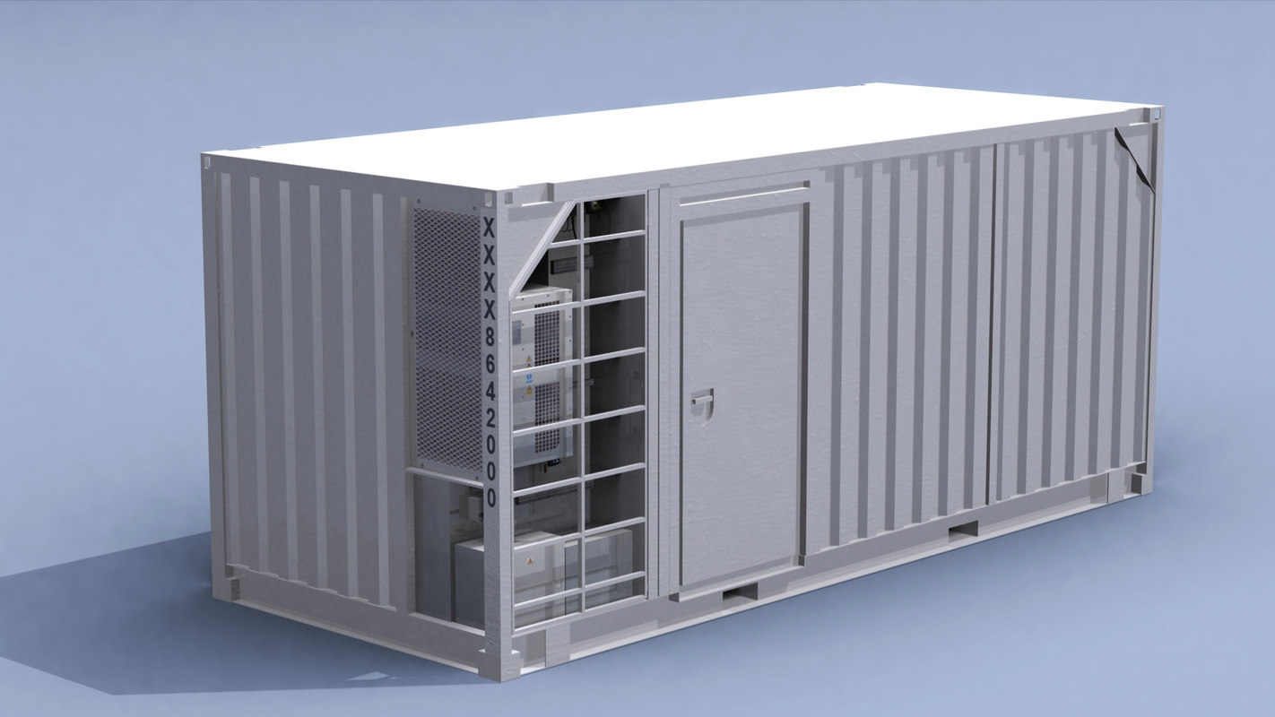 subsea control container 3D model