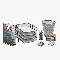 office supplies 3D