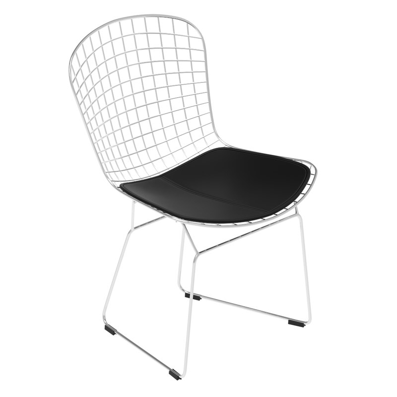 3D wire chair bertoia