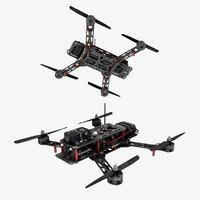 drone 1 3D model