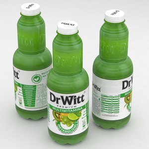 3D bottle juice model