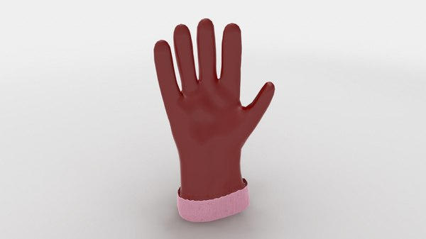 ready gloves 3D model