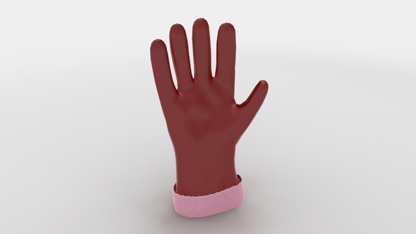 ready gloves 3D model