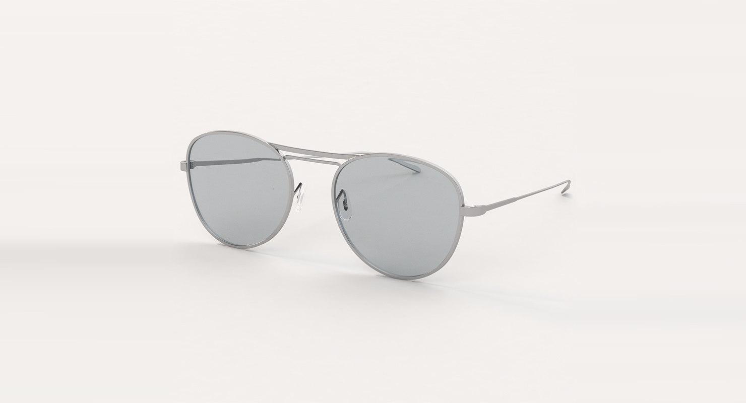 3D model sun glass