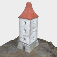lighthouse light 3D model