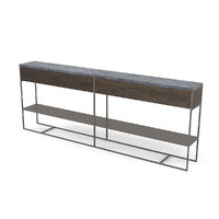 Minotti CALDER BRONZE Console Table