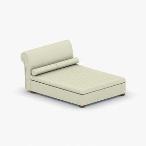 3D model - beds