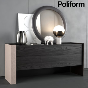 chest poliform night complements model