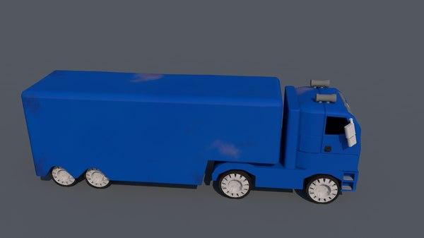truck 3D model