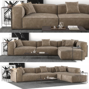 3D sofa salotti doimo roland model