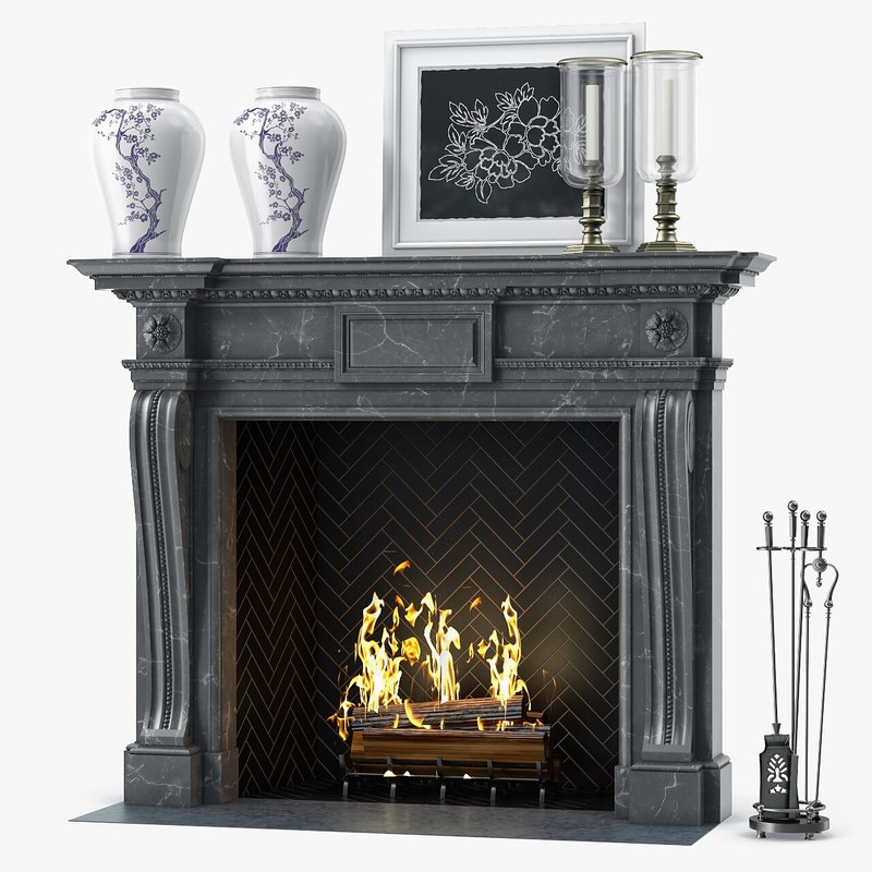 3D chesneys mansfield fireplace