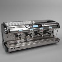 Franke coffee machine T600 TA 4 groups black