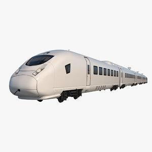 3D generic train model