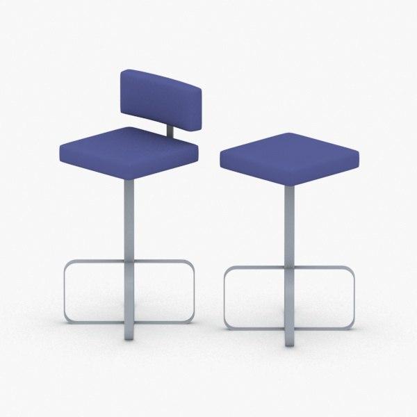3D - chairs bar