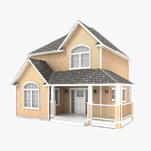 two-story cottage 56 3D