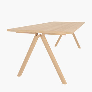 muuto split table 3D model