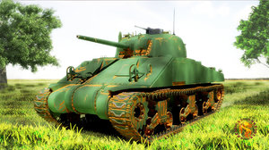 sherman m4 hp model