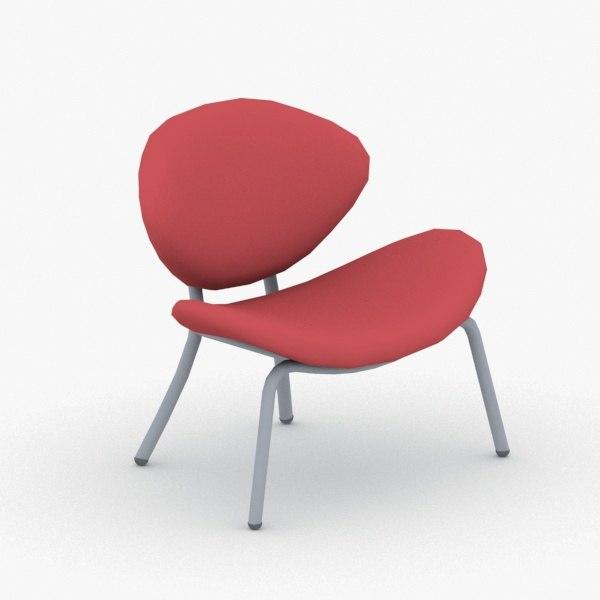 3D - chairs modern office