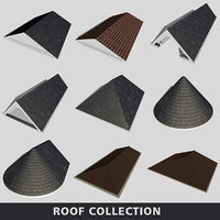 3D roof gable hip