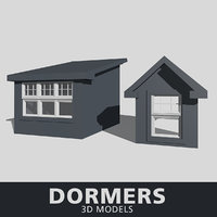 dormers 3D model