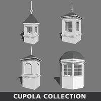 3D model cupola