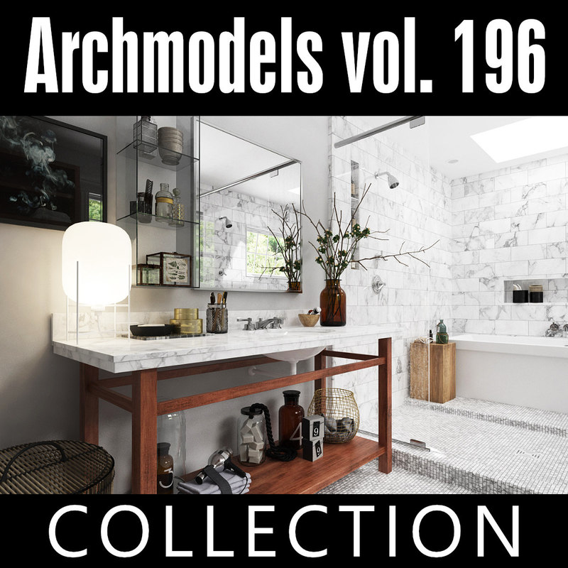 archmodels vol 196 3D