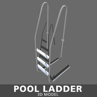 3D pool ladder