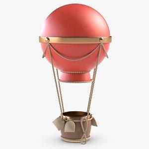 toy balloon 3D model