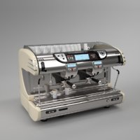 Franke coffee machine T600 TA 2 groups cream