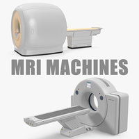 Mri Machines 3D Models Collection