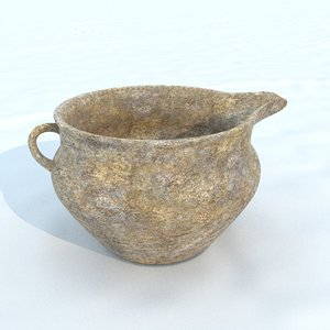 pot antique 5 3D