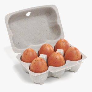 eggs box 3D model
