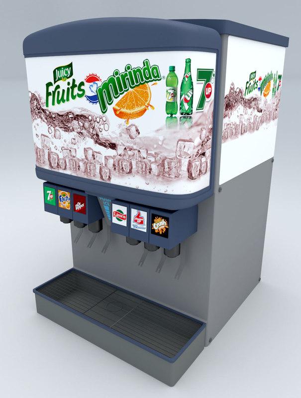 3D drink machine