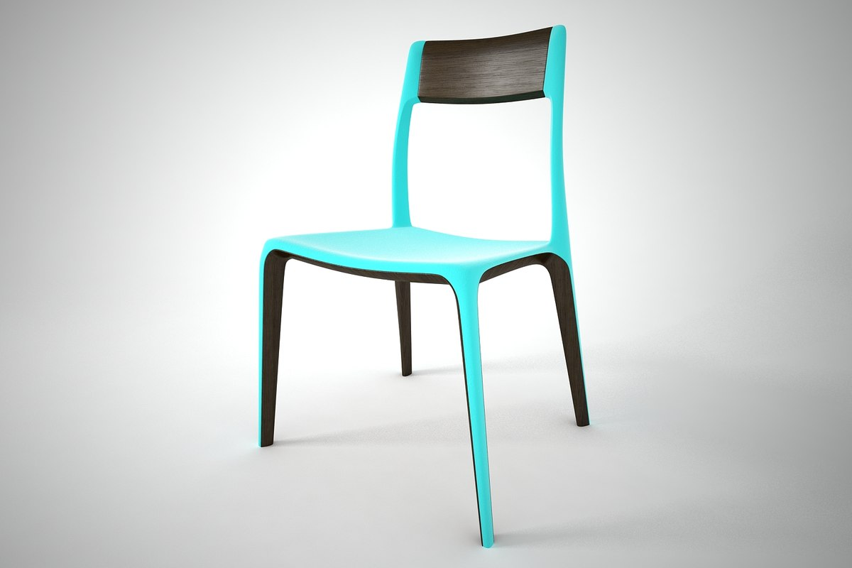 3D furnishings furniture chair model